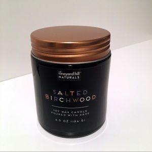 Vineyard Hill Salted Birchwood Soy Wax Candle